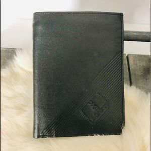 YSL Leather Wallet Zipper